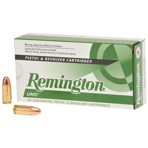Remington UMC® 9mm Luger 124-Grain Centerfire Handgun Ammunition