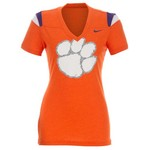 Nike Women's Clemson University Football Replica T-shirt
