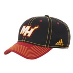 adidas Men's Miami Heat Basic Flex CLIMATE® Cap