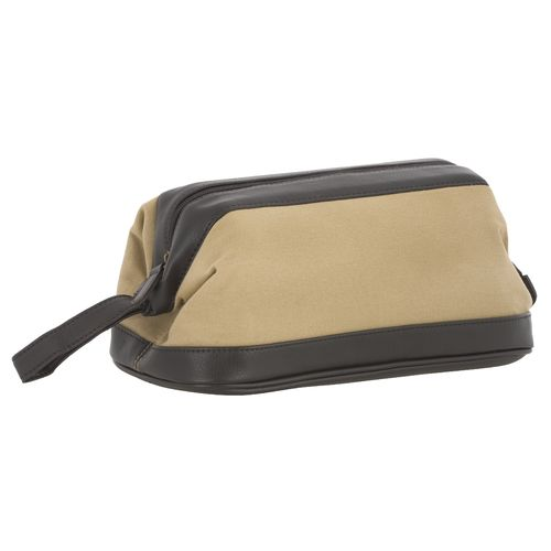 Magellan Outdoors™ Canvas Travel Kit with PU Trim