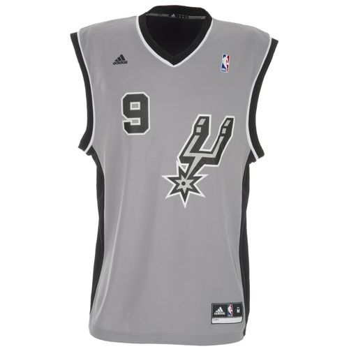 adidas Men's San Antonio Spurs NBA Revolution 30 Replica Jersey