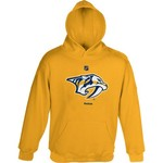 Reebok Youth Nashville Predators Distressed Logo Fleece Hoodie