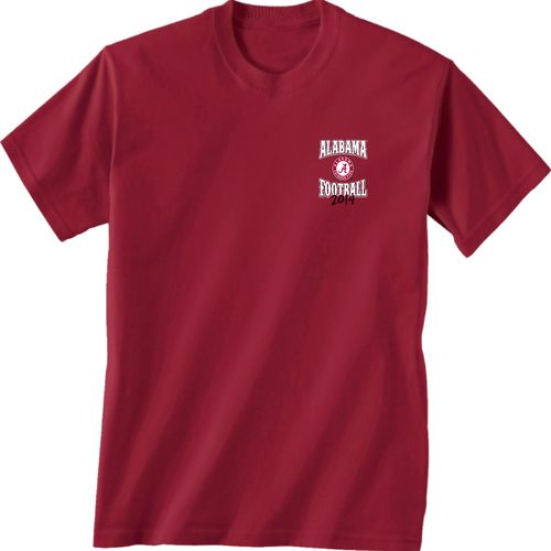New world graphics adults 39 university of alabama football for University of alabama football t shirts