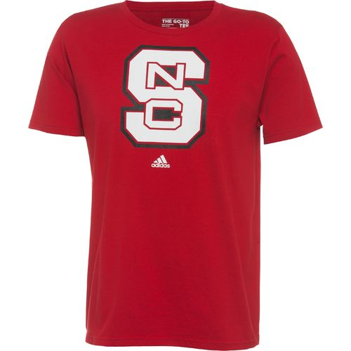 adidas™ Men's North Carolina State University School Logo T-shirt