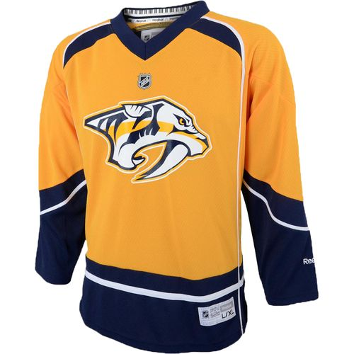 Reebok Boys' Nashville Predators Team Color Replica Jersey