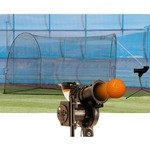 Trend Sports Starting Pitcher Pitching Machine with HomeRun Batting Cage