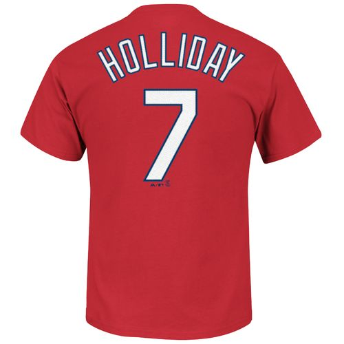 Majestic Men's St. Louis Cardinals Matt Holliday #7 Official T-shirt