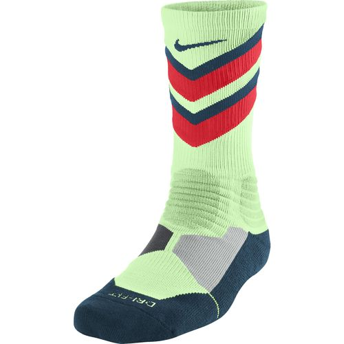 Nike Adults' Hyper Elite Chase Basketball Crew Socks