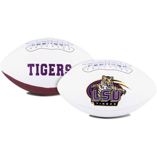 Jarden Sports Licensing Louisiana State University Signature Series Full Size Football with Autograp