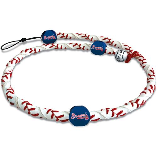 GameWear Adults' Atlanta Braves Tomahawk Logo Classic Frozen Rope Baseball Necklace