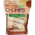 "Pork Chomps Premium 7"" Baked Knots 8-Pack"