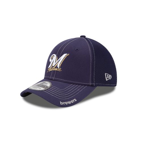 New Era Men's Milwaukee Brewers 2015 Neo 39THIRTY Cap