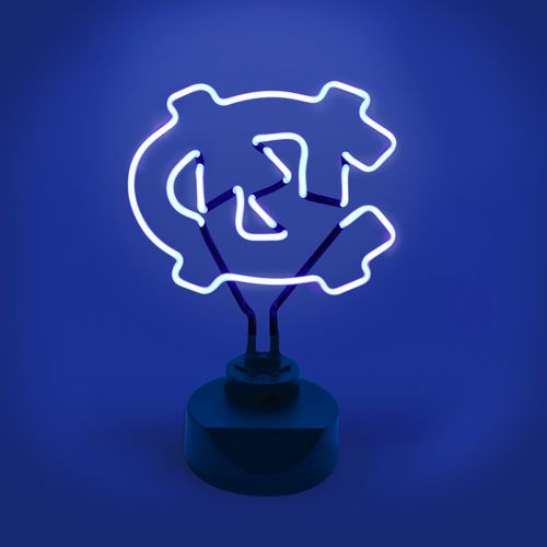 AES Optics University of North Carolina Table Top Neon Light