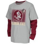 Colosseum Athletics Kids' Florida State University Flanker Long Sleeve Layer T-shirt