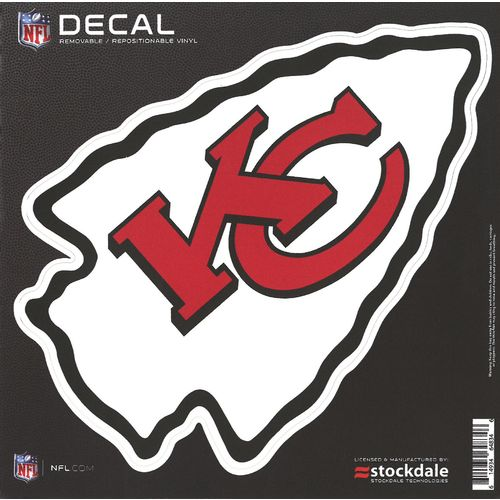 Stockdale Kansas City Chiefs 6' x 6' Decal