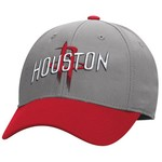 adidas Men's Houston Rockets Team Nation Structured Flex Cap