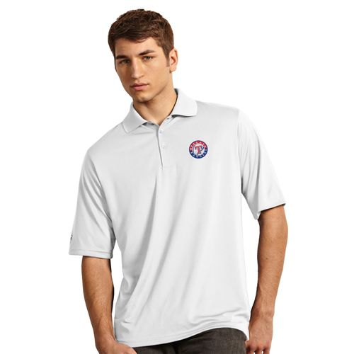 Antigua Men's Texas Rangers Exceed Polo Shirt - view number 2