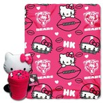 The Northwest Company Chicago Bears Hello Kitty Hugger and Fleece Throw Set