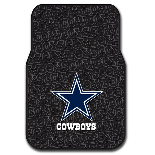 The Northwest Company Dallas Cowboys Front Car Floor Mats 2-Pack