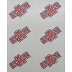 Stockdale Arkansas State University Face Decal - view number 1