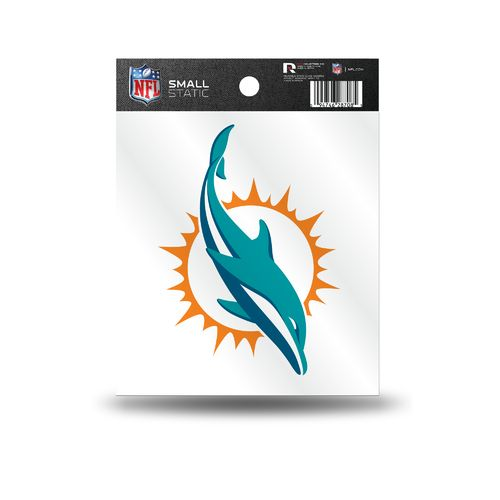 Rico Miami Dolphins Small Static Cling