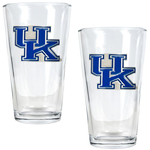 Great American Products University of Kentucky 16 oz. Pint Glasses 2-Pack
