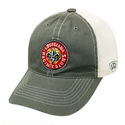 Top of the World Adults' University of Louisiana at Lafayette Putty Cap