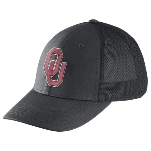 Nike™ Men's University of Oklahoma Dri-FIT Legacy91 Mesh Back Swoosh Flex Cap