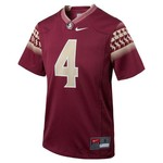 Nike™ Boys' Florida State University #4 Replica Football Jersey