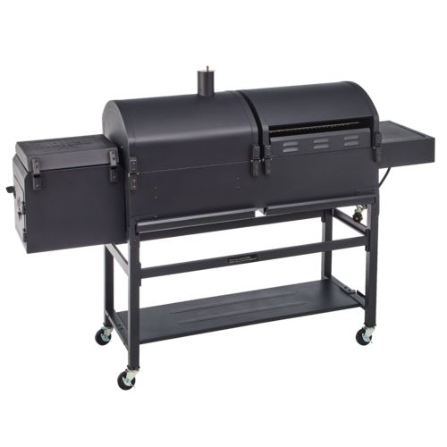 Outdoor Gourmet Triton Classic Gas/Charcoal Grill and Smoker Box - view number 3