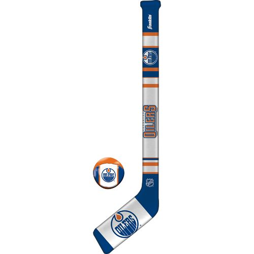 Franklin Edmonton Oilers Soft Sport Hockey Set