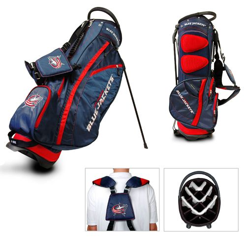 Team Golf Columbus Blue Jackets Fairway 14-Way Golf Stand Bag