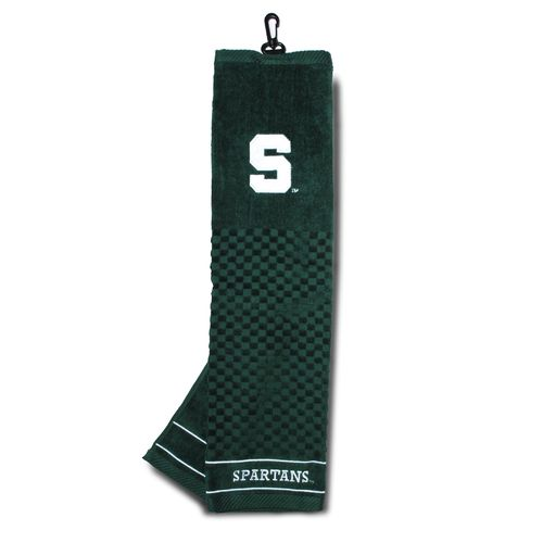Team Golf Michigan State University Embroidered Towel