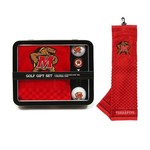 Team Golf University of Maryland-College Park Embroidered Towel Tin Gift Set