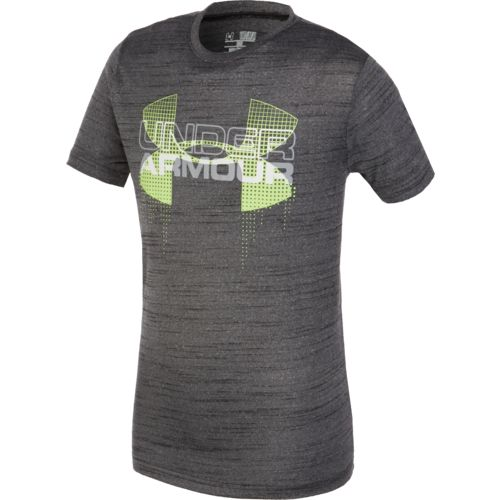 Under Armour® Boys' Big Logo Hybrid T-shirt