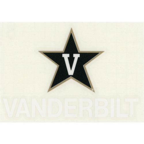"Stockdale Vanderbilt University 4"" x 7"" Decals 2-Pack"