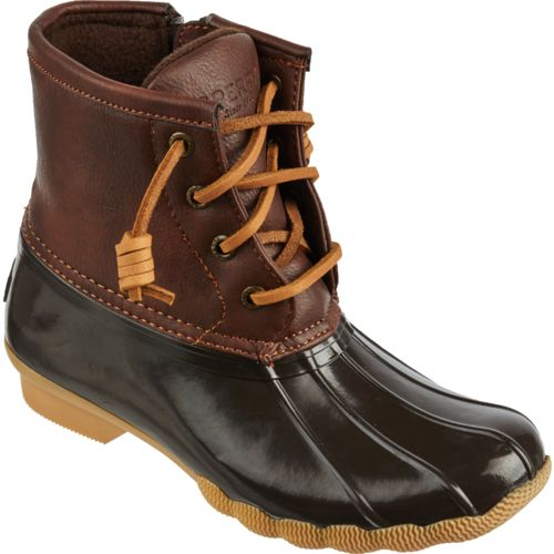 Sperry Girls' Top-Sider Saltwater Duck Boots | Academy