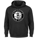 Majestic Men's Brooklyn Nets Tek Patch Pullover Hoodie - view number 1