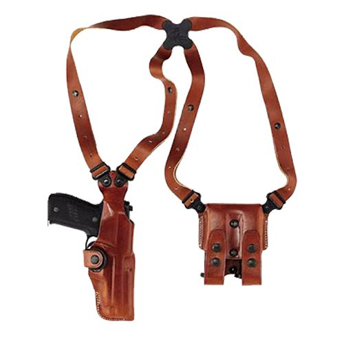 Galco Beretta 92/96 and Taurus 92/99/100/101 Vertical Shoulder Holster System