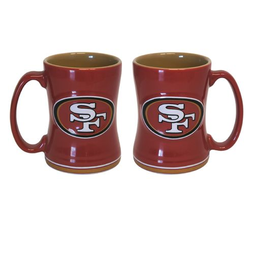 Boelter Brands San Francisco 49ers 14 oz. Relief