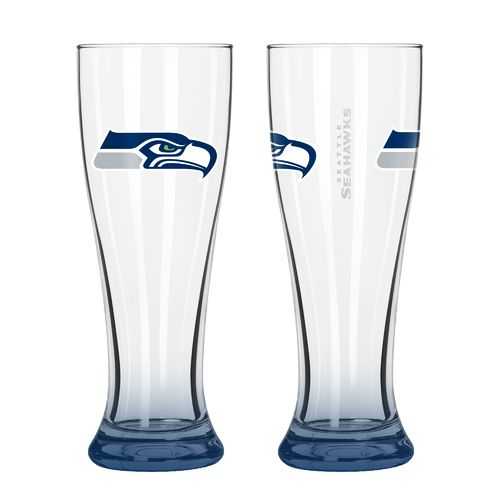 Boelter Brands Seattle Seahawks Elite 16 oz. Pilsners 2-Pack