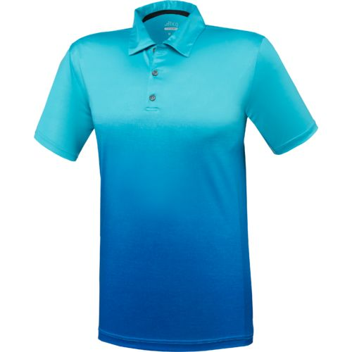 BCG™ Men's Golf Ombré Stripe Tru Wick Short Sleeve Polo Shirt