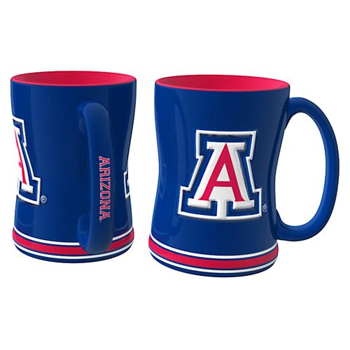 Boelter Brands University of Arizona 14 oz. Relief Mugs 2-Pack - view number 1