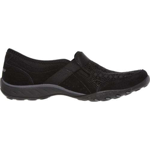 SKECHERS Women's Relaxed Fit Breathe Our Song Slip-On Shoes