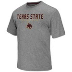 Colosseum Athletics Men's Texas State University Arena Short Sleeve T-shirt