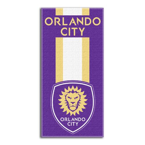 The Northwest Company Orlando City SC Zone Read Beach Towel