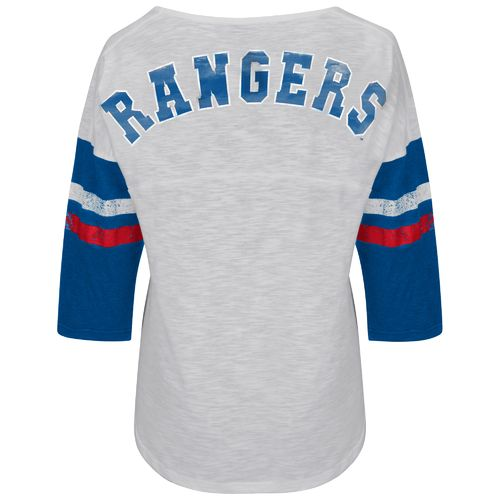 G-III for Her Women's Texas Rangers Extra Point Top
