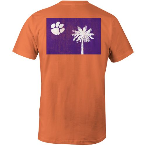 Image One Men's Clemson University Comfort Color T-shirt
