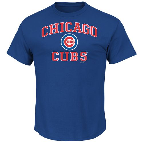 Majestic Men's Chicago Cubs Heart and Soul T-shirt