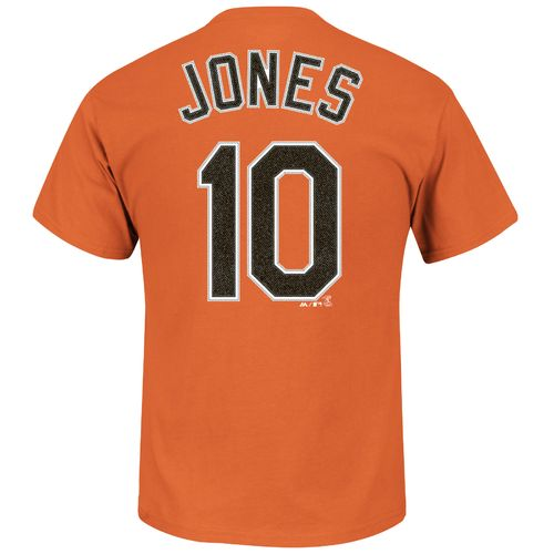 Majestic Men's Baltimore Orioles Adam Jones #10 T-shirt - view number 1